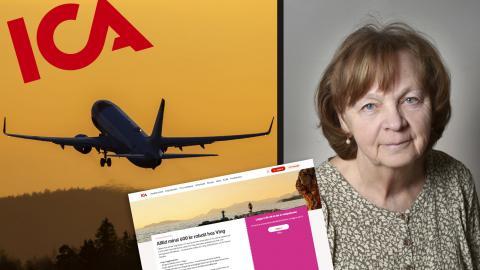 Margareta Lundberg.  Bild: Jenny thörnberg. Håkon Mosvold Larsen/TT. Faksimil