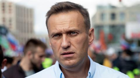 Aleksej Navalnyj. Bild: TT/AP/Pavel Golovkin