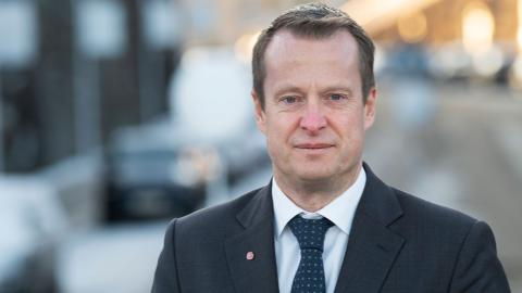 Energiminister Anders Ygeman. Bild: Fredrik Sandberg/TT