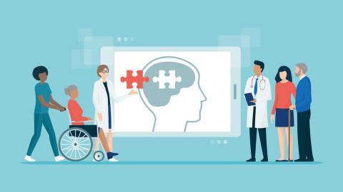Migrationsskolan har i samarbete med fyra specialistmottagningar i Skåne tagit fram ett nytt testbatteri som ska förbättra demensutredningar.  Bild: Shutterstock