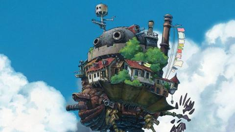 """Det levande slottet"". Bild: Studio Ghibli"