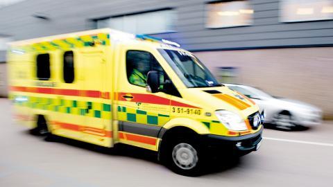 """En man drabbades av stroke men ambulanssjukvårdare bedömde tillståndet som """"kulturell svimning"""". Mannen fick svåra skador och avled senare. Bild: Adam Ihse/TT"""