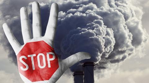 Många väljare uppskattar när politiker sätter en röd gräns. Det finns all anledning att göra detta även i klimatpolitiken, menar debattörerna. Bild: Shutterstock