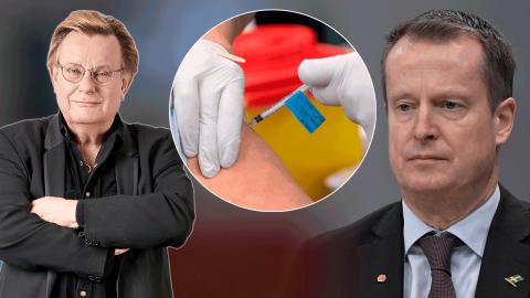 S-ministern Anders Ygeman utlovade vaccinpass 1 juni – men så blev det inte. Bild: TT