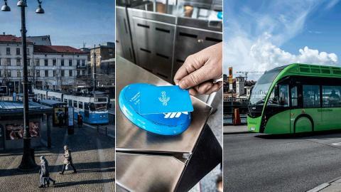 Avgiftsfri kollektivtrafik, eller så kallad nolltaxa, skulle bli billigare för i princip alla som i dag köper ett månadskort varje månad, visar Dagens ETC:s uträkning. Bild: TT/SvD