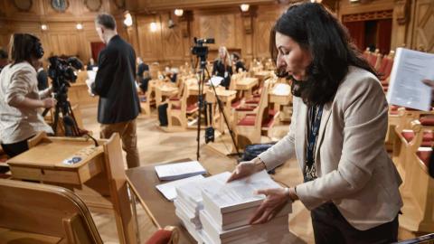 Konstitutionsutskottet presenterade sina slutsatser under torsdagen. Bild: TT/Lars Schröder