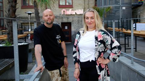 Mattias Lundin och Louise Hansson är några av delägarna som nu står bakom det nya Nefertiti. Bild: Christian Egefur