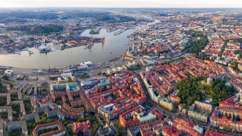Tillväxten i Göteborg har nästan halverats under 2020, jämfört med de tolv senaste åren. Bild: Anja Sjögren
