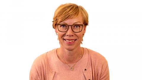 Sofia Gustafsson, enhetschef centrum för arbetsmarknadsanställningar.  Bild: Alexander Bringsonou
