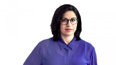 Somar Al Naher, kultur- och frilansskribent. Bild: Dagens ETC