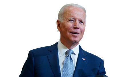 Joe Biden. Bild: Evan Vucci/AP/TT