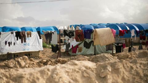 Samtliga barn ska hämtas hem från IS-lägren, och det redan i år, enligt uppgifter till Dagens ETC. Bild: TT/AP/ Maya Alleruzzo