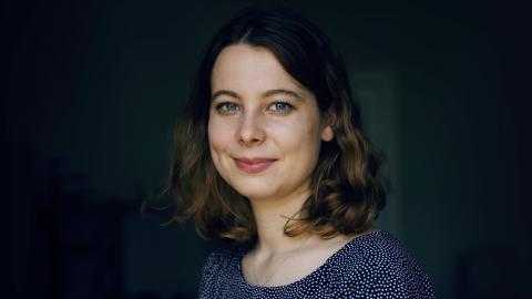 """""""Ingen ska behöva bli statslös på grund av  klimatförändringarna"""", säger Jamila Schäfer. Bild: Marzena Skubatz"""