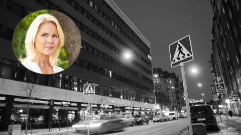 Josephine Appelqvist är en av grundarna till den ideella organisationen Talita. Bild: TT