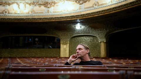Mattias Andersson, teaterchef på Dramaten i Stockholm.  Bild: Jessica Gow/TT