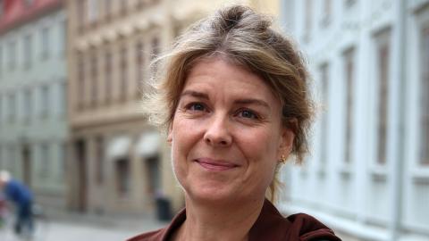 Mia Liinason flyttar till  Lund i höst för att börja sin tjänst som professor  på Lunds universitet. Bild: Hanna Strömbom