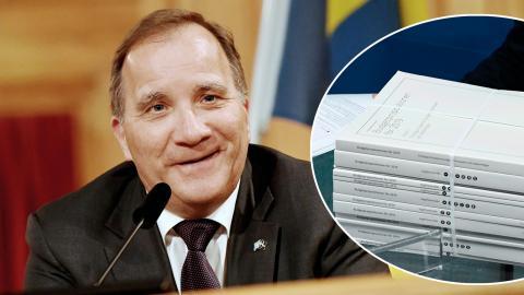 Stefan Löfven får bilda regering på nytt – nu är budgeten nästa strid. Bild: TT