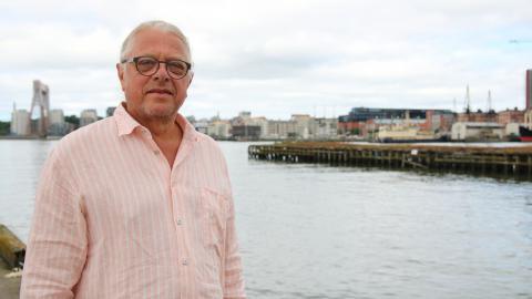 Stig Thörnqvist, tidigare utredare på enheten för fiskereglering på Havs- och vattenmyndigheten, oroas över att torsken i Kattegatt kommer dö ut om inte mer görs för att rädda den. Bild: Julia Sandstén Vikberg