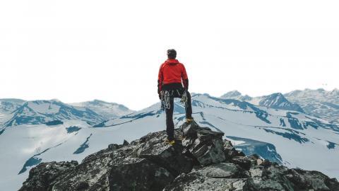 Att Södra Årefjällen infört avgifter för vandrare är oroande, tycker debattören.  Bild: Privat