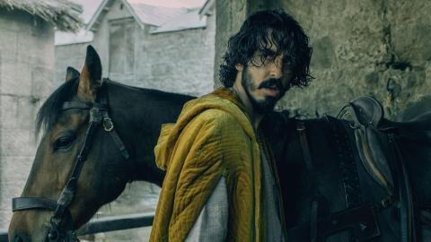 "Dev Patel som sir Gawain i ""The  green knight"". Bild: Eric Zachanowich/A24 Films"
