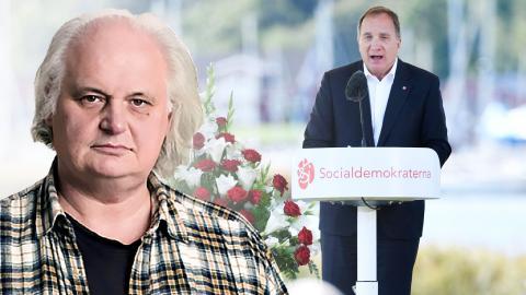 Stefan Löfven meddelade under söndagen att han kliver av från uppdragen som S-ledare och statsminister. Bild: Henrik Montgomery/TT, Dagens ETC