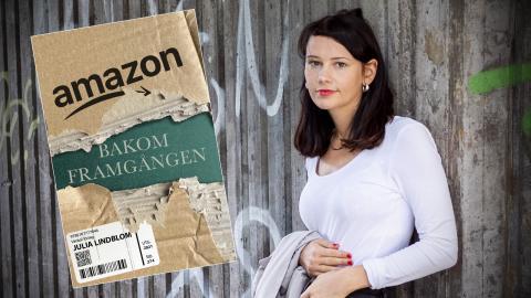 """Julia Lindblom, aktuell med boken """"Amazon – bakom framgången"""". Bild: Zanna Nordqvist"""