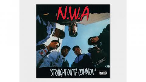 """N.W.A:s """"Straight outta Compton""""."""