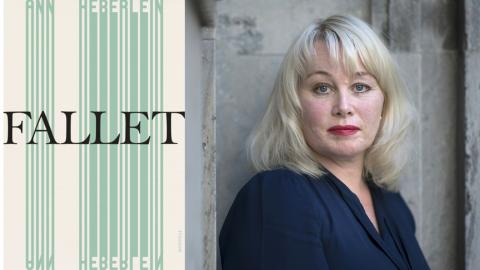 "Ann Heberleins nya bok ""Fallet"" släpptes i veckan.  Bild: Staffan Löwstedt/SvD/TT"