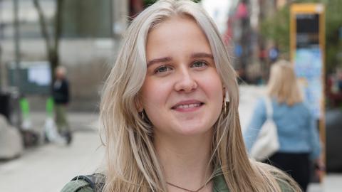 Ingrid Eriksson. Bild: Adam Sundman