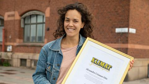 Alexandra Urisman Otto.  Bild: Krister Hansson/Aftonbladet