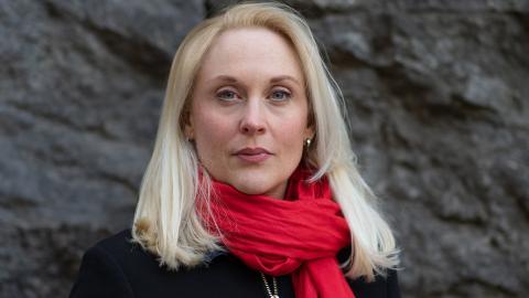 Lisa Bjurwald, journalist.  Bild: TT
