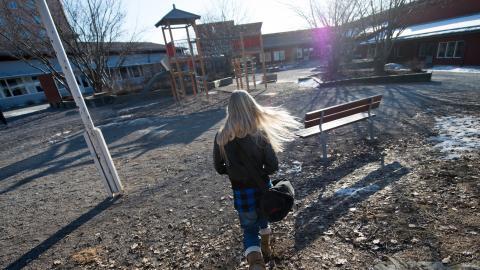Den nya lagen om barnfridsbrott har ökat arbetsbelastningen hos polisen.   Bild: Fredrik Sandberg/TT